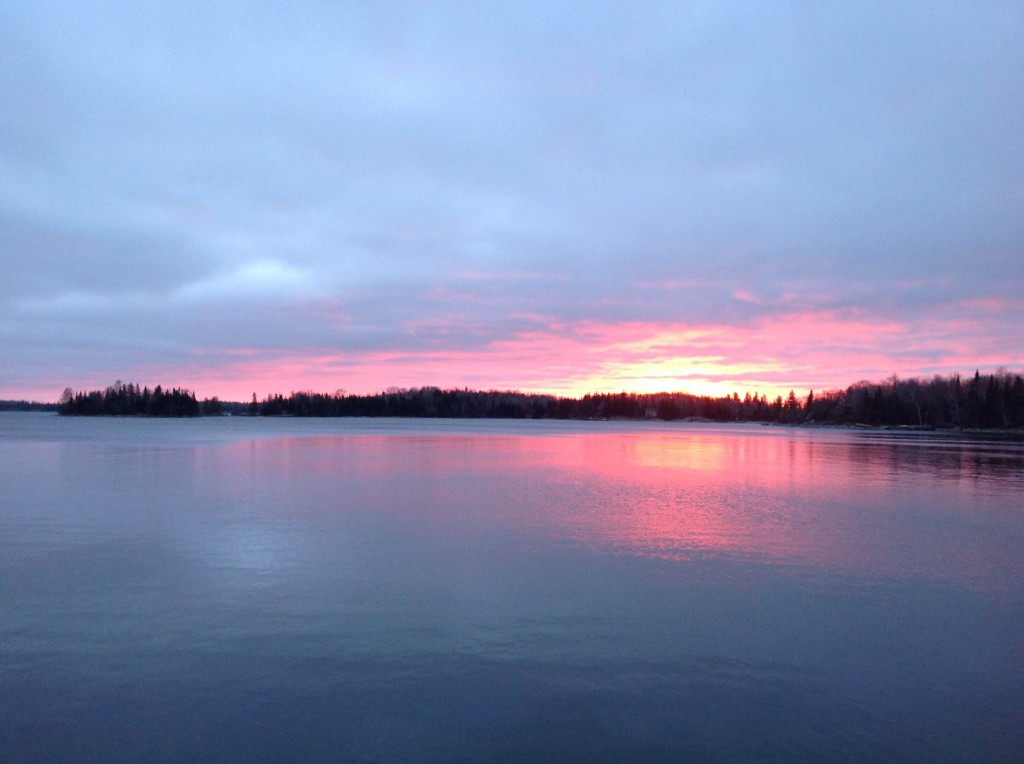 Sunset on Lake of The Woods